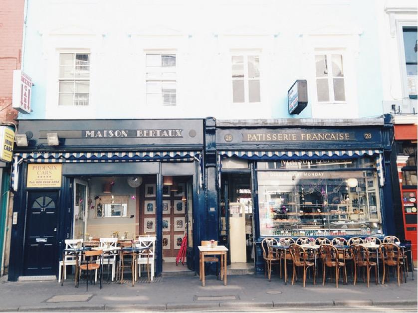 Maison bertaux epic london food for Maison london